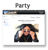 Party Exchange Website
